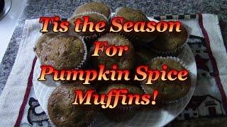 Pumpkin Spice Muffins!