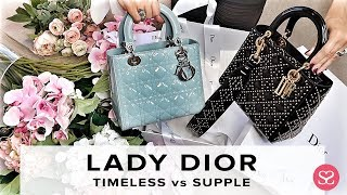 LADY DIOR: WHICH ONE SHOULD YOU GET? | Sizes, Price, Lady Dior Supple | Sophie Shohet