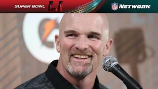 Best of Dan Quinn from Opening Night | NFL Network | Super Bowl LI Opening Night