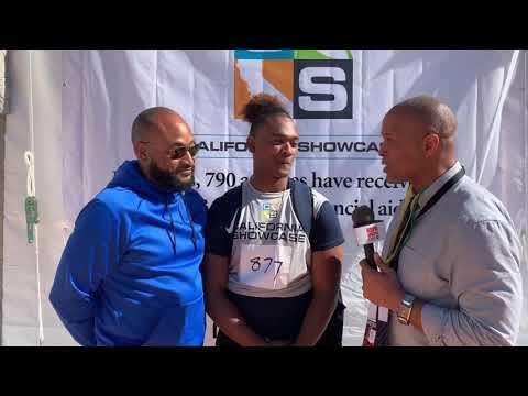 LEM & SABIAN RIVERA - 2019 CALIFORNIA SHOWCASE - LIVE HIGH SCHOOL FOOTBALL BROADCAST & LIVE STREAM