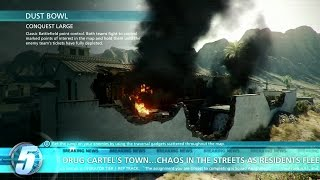 Battlefield Hardline BETA - CONQUEST LARGE Xbox One Multiplayer Gameplay (2015) | Official Game