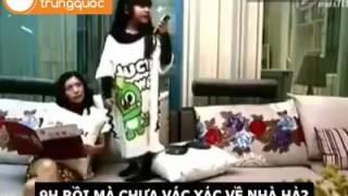 Hài Trung Quốc: Con gái bá đạo của mẹ