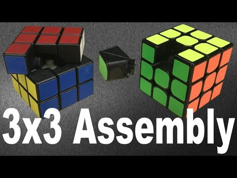 How to Take Apart & Reassemble ANY 3x3 Cube (v3)
