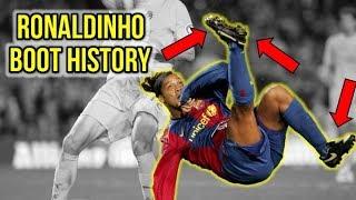 RONALDINHO'S FOOTBALL BOOT HISTORY