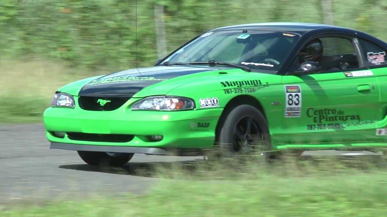 SN95 Mustang GT Drift Car (The Green Monster) Power Lap @ Ecotrack Motor  Complex
