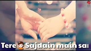 Tere sajde me sar hai jhuka   tere liye   female   whatsapp status video female   sanjit creations
