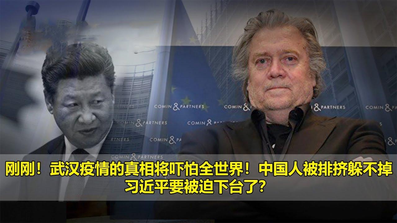 习近平最新视频,刚刚!武汉疫情的真相将吓怕全世界!中国人被排挤躲不掉,习近平要被迫下台了?