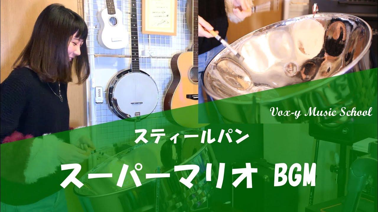 スーパーマリオブラザーズ BGM 【スティールパン】