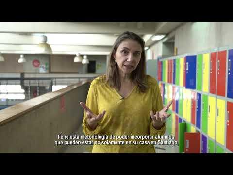 Profesora Claudia Martin explica la metodología HyFlex en Psicología UDD