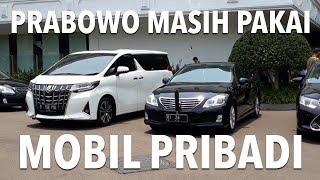 Hadiri Rapat Kabinet, Prabowo Subianto Hingga Nadiem Makarim Masih Gunakan Mobil Pribadi