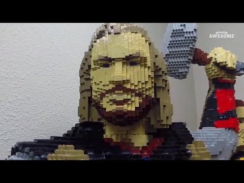Life Size Lego Thor Build!
