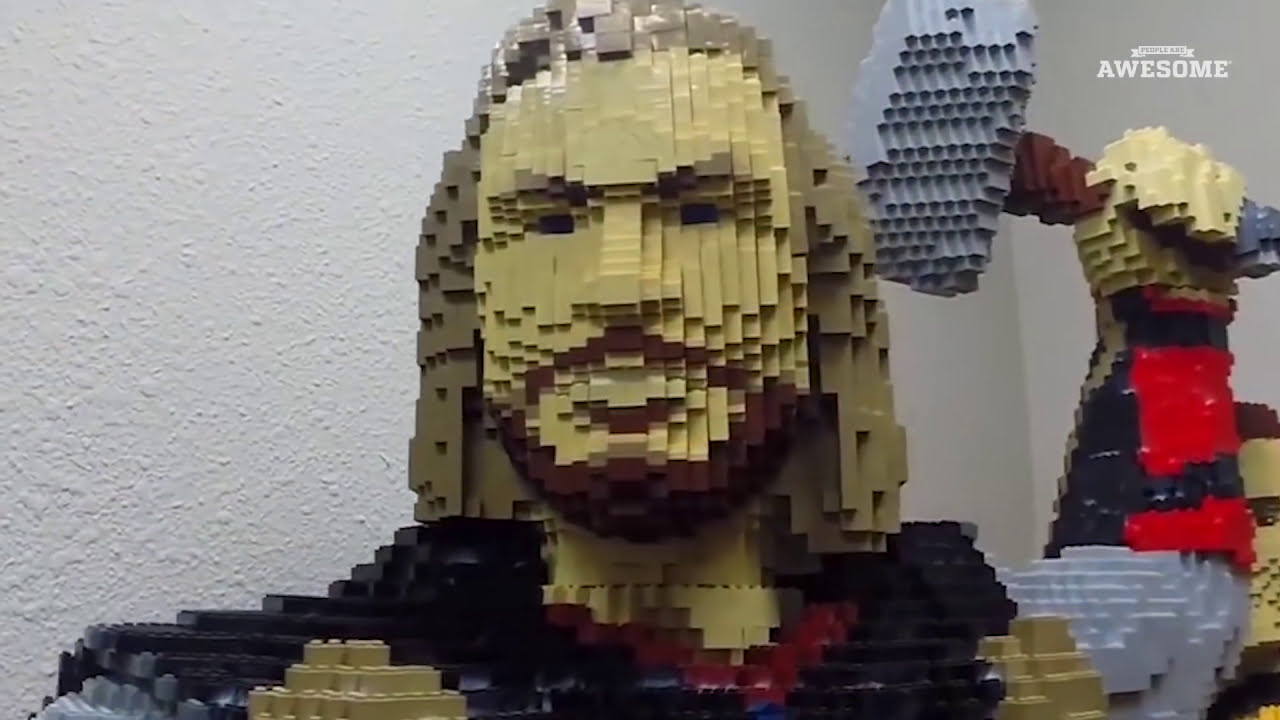 Life Size Lego Thor Build!