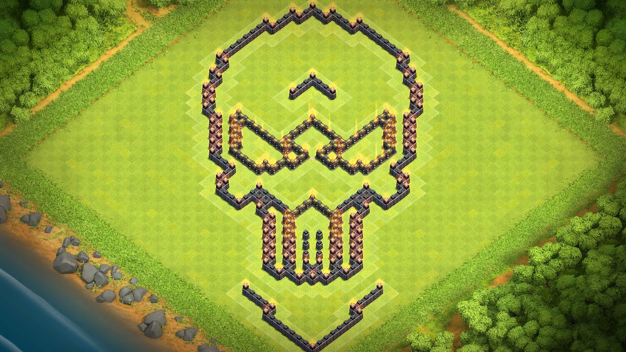 Town Hall 10 Funny Base Design
