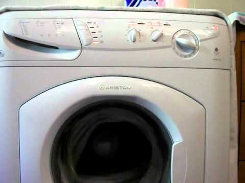 hotpoint ariston avxxl125 youtube. Black Bedroom Furniture Sets. Home Design Ideas