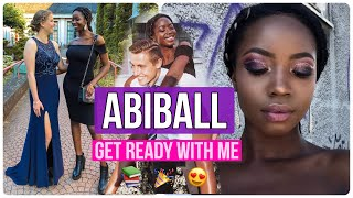 ABIBALL 2018 Get Ready with me Makeup + Outfit | Abigail