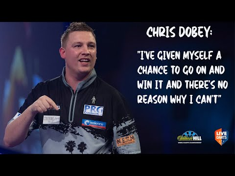 """Chris Dobey: """"I've given myself a chance to go on and win it and there's no reason why I can't"""""""