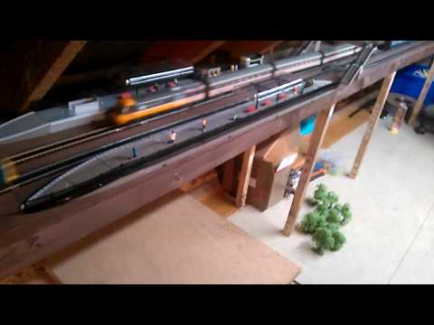 Building a Model Railway – PT11 – Background Scenery and finalising Ph1 of the track plan.