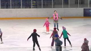 Уроки фигурного катания Элина Ким 25.04.16