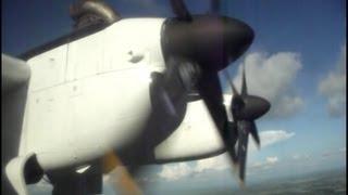 de Havilland DHC-7 landing in Aeroporto Internacional de Las Américas