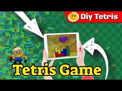 How To Make Tetris - Lego Tetris Game - How To Make A Lego Tetris Game