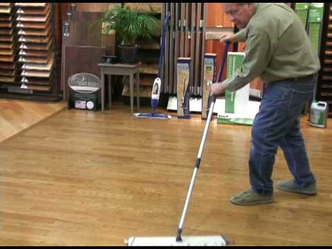 How To Clean Your Hardwood Floors Professional Youtube
