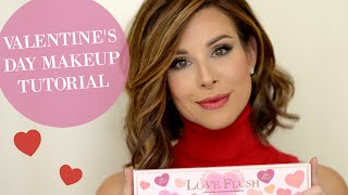 Valentine's Day Makeup Tutorial & Giveaway!