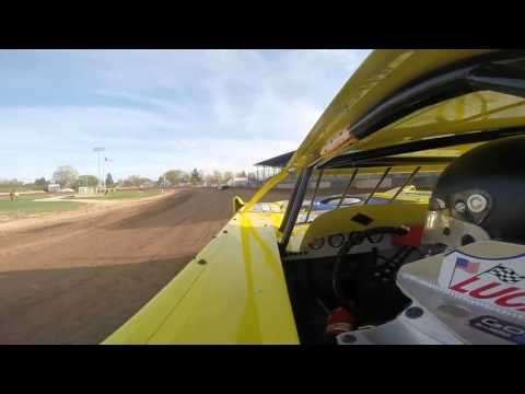 Tim Buhler - Plymouth Dirt Track - Late Model Hot Laps - 5/7/16