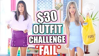 $30 Outfit Challenge with Jeanine Amapola! Forever 21 Challenge