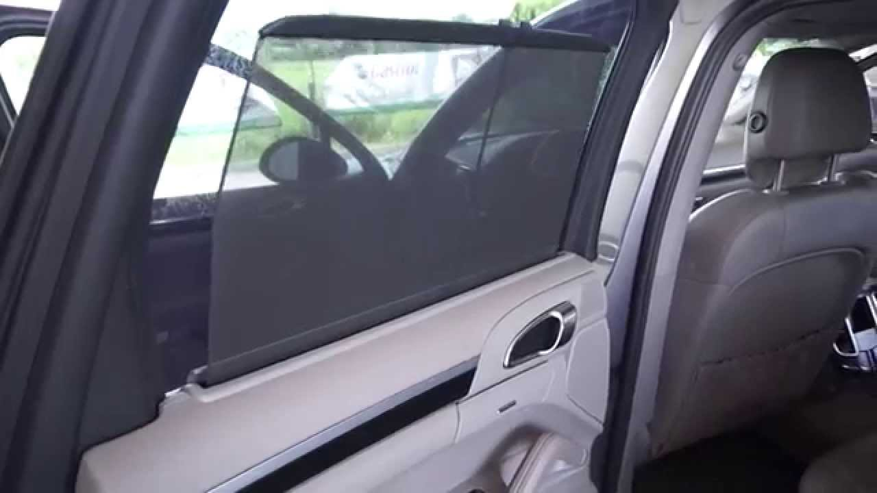 Porsche Cayenne electric window curtain surprise and