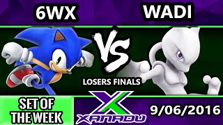 s x 166 ss   wadi mewtwo vs circa   6wx sonic ssb4 losers finals smash wii u smash 4