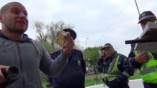 Взятка на посту ГАИ 2 столба Одесса(Все что вы видите в этом видео материале уголовно наказуемо, просьба не повторять, чтобы не быть привлеченн..., 2015-09-14T16:07:26.000Z)