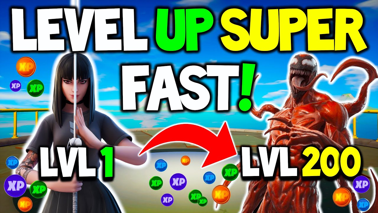 Download How to Level UP & Gain XP FAST in Season 8 EASILY!   Carnage & GOLD Skins!