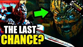 TRANSFORMERS 5: Is the Last Knight the Last Chance? Trailer Review & Easter Eggs