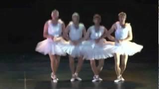 Adelaide Four Swans Parody. Swan Lake cygnet dance.
