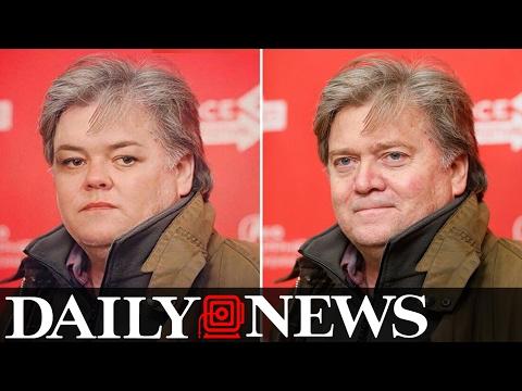 Rosie O'Donnell Morphs Into Steve Bannon On Twitter