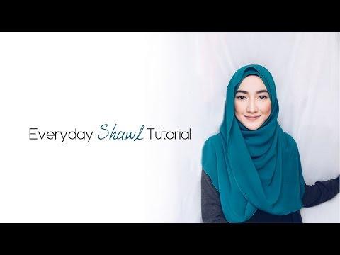 || Everyday Simple Shawl Tutorial || #2
