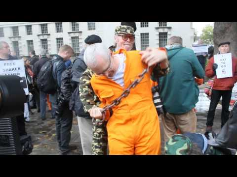 Guantanamo Bay torture and force feeding Re-enactment