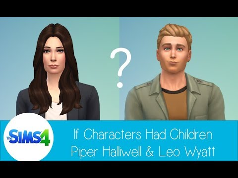 If Characters had Children in The Sims 4  Leo & Piper Halliwell from Charmed