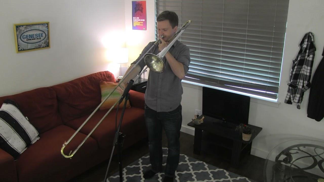 Pensativa - Jack Courtright Unaccompanied Trombone Solo