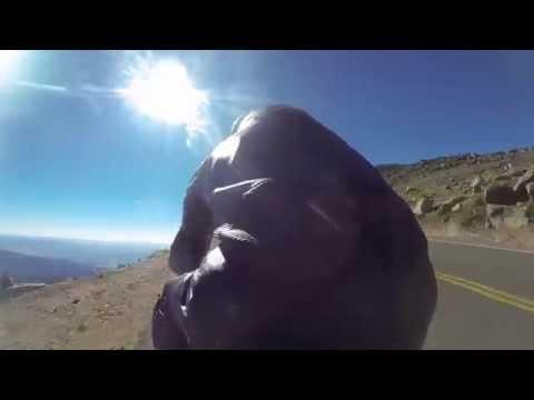 GUY MARTIN (TT Racer) POV SPEED RUN Pikes Peak International Hill Climb