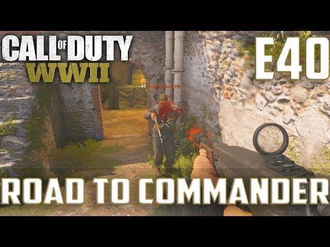 Call Of Duty World War 2(RTC)PS4 Ep.40-TDM On Gibraltar,FFA On London Docks(Type 100 Gameplay)