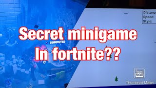 Secret minigame in fortnite(not clickbait)