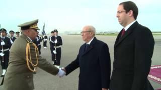زيارة الصداقة والعمل لرئيس الجمهورية  للجزائر بدعوة من شقيقه الرئيس الجزائري