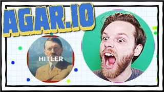 YUB VS HITLER!! Agar.io Gameplay