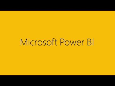 Power BI – Experience your data. Any data, any way, anywhere