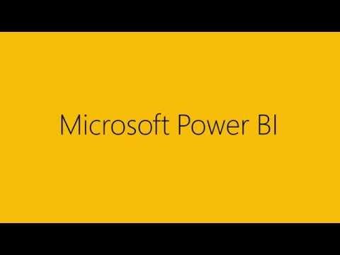 Power BI – Experience your data. Any data, any way, anywhere