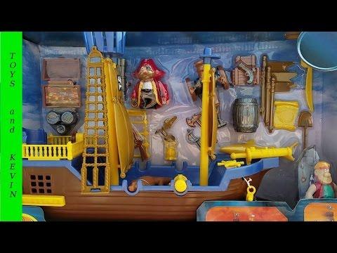 Играем в ПИРАТОВ Ищем сундук с сокровищами Pirate playset Kids Stuff