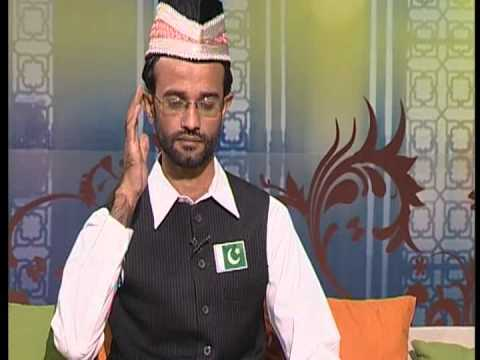 Qari Muhammad Zeeshan Haider (The Shining Star of Chakwal) Atv Live Iftar Transmission @ 14 Aug 2012