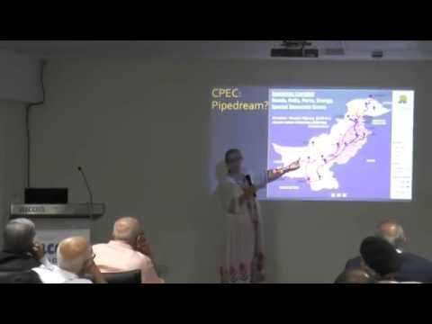 Pune International Centre  Lecture by Prof  Christine Fair