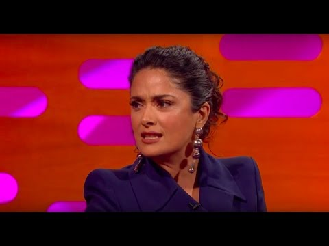 Salma Hayek Had a Trump Piñata  The Graham Norton